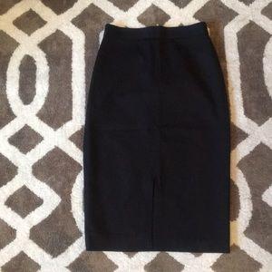 Banana Republic High Waist Pencil Skirt Sz 0